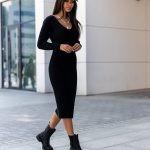 Sukienka Alaya Black PRE-ORDER WYSYŁKA 29.09.2021